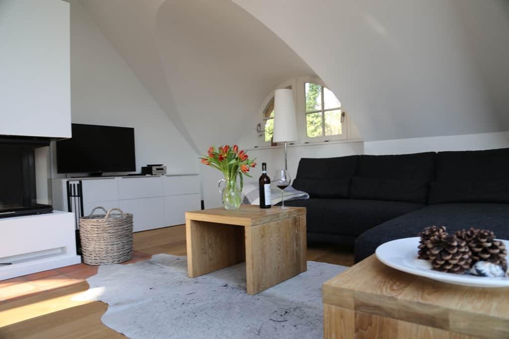 90 Quadratmeter Traumwohnung für zwei mit Boddenblick - Büdnerhaus ...