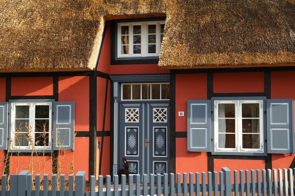 Haustür zum Büdnerhaus
